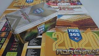 NOWOŚĆ!!! MEGA DUŻA PUSZKA KOLEKCJONERA PANINI FIFA 365 2020 UNBOXING WPADAJĄ MEGA LIMITKI!!!