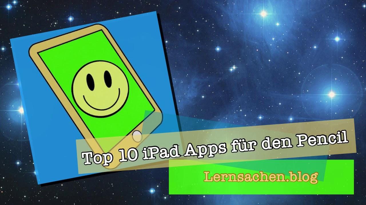 Top 10 Apps für den Apple Pencil