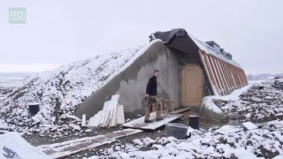 FFCH // First Earthship in Germany - Winterdays (1080p)