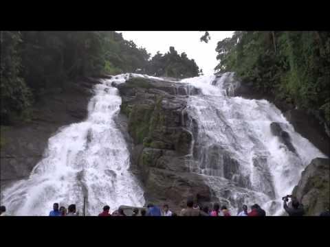 Charpa Waterfalls near Athirapilly