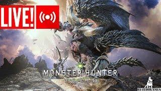 LIVE - MONSTER HUNTER WORLD - COMEÇANDO NO PC!