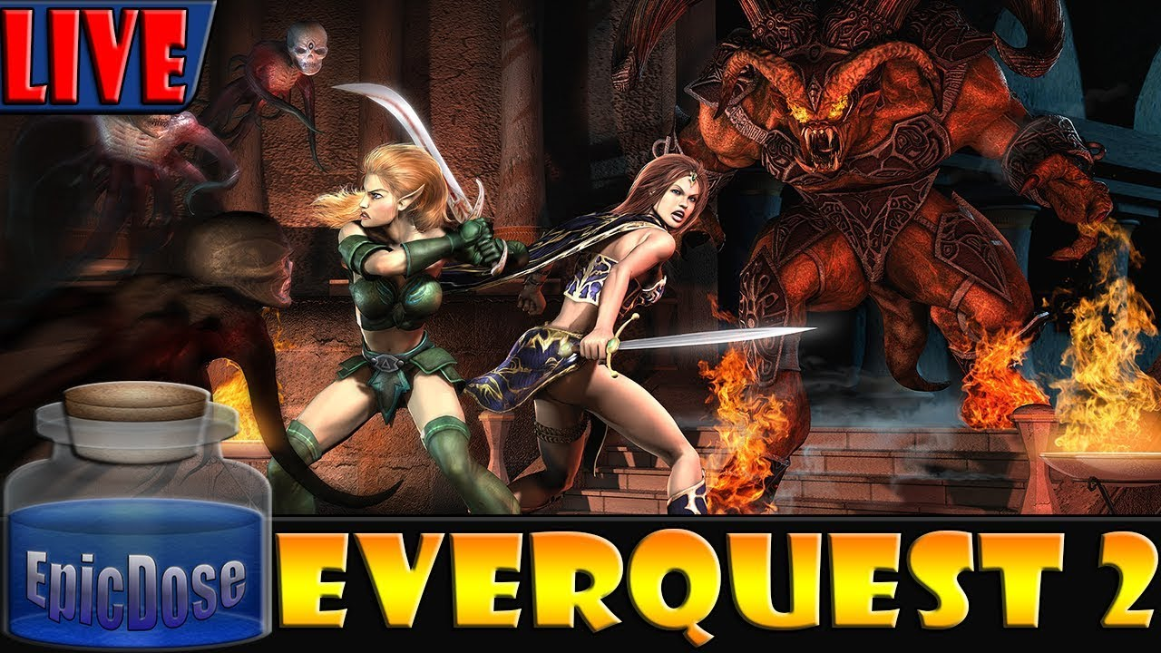 Everquest 2 - Kaladim TLE Server - EQ2 - Mystic Froglok Hiphop!
