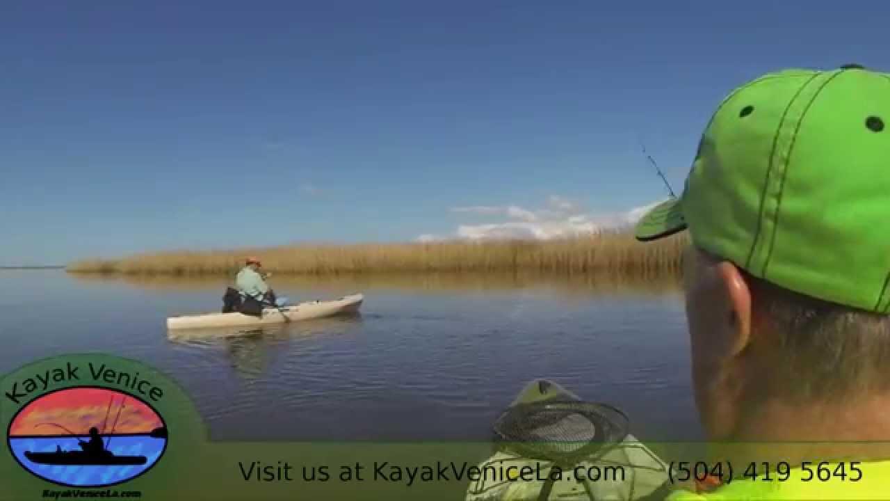 Kayak fishing in louisiana early february highlight for Kayak fishing louisiana