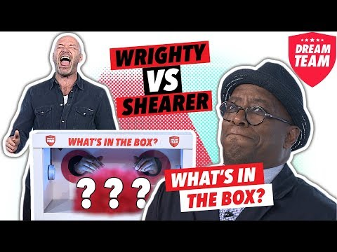 HILARIOUS 'WHAT'S IN THE BOX CHALLENGE?' | With Alan Shearer and Ian Wright