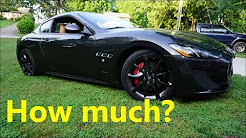 How expensive is insurance on a Maserati?