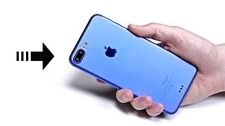 iPhone 7 Plus - Hands On With Prototype!(iPhone 7 Plus in blue? Subscribe for my upcoming iPhone 7 Plus unboxing - http://youtube.com/unboxtherapy Mockup unit in video provided by ..., 2016-08-03T15:59:12.000Z)