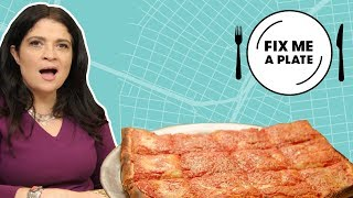 Sicilian-Style Square Pizza at Spumoni Gardens | Fix Me a Plate