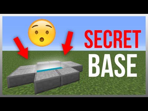 Minecraft 1.10: Redstone Tutorial - Secret Underground Entrance!