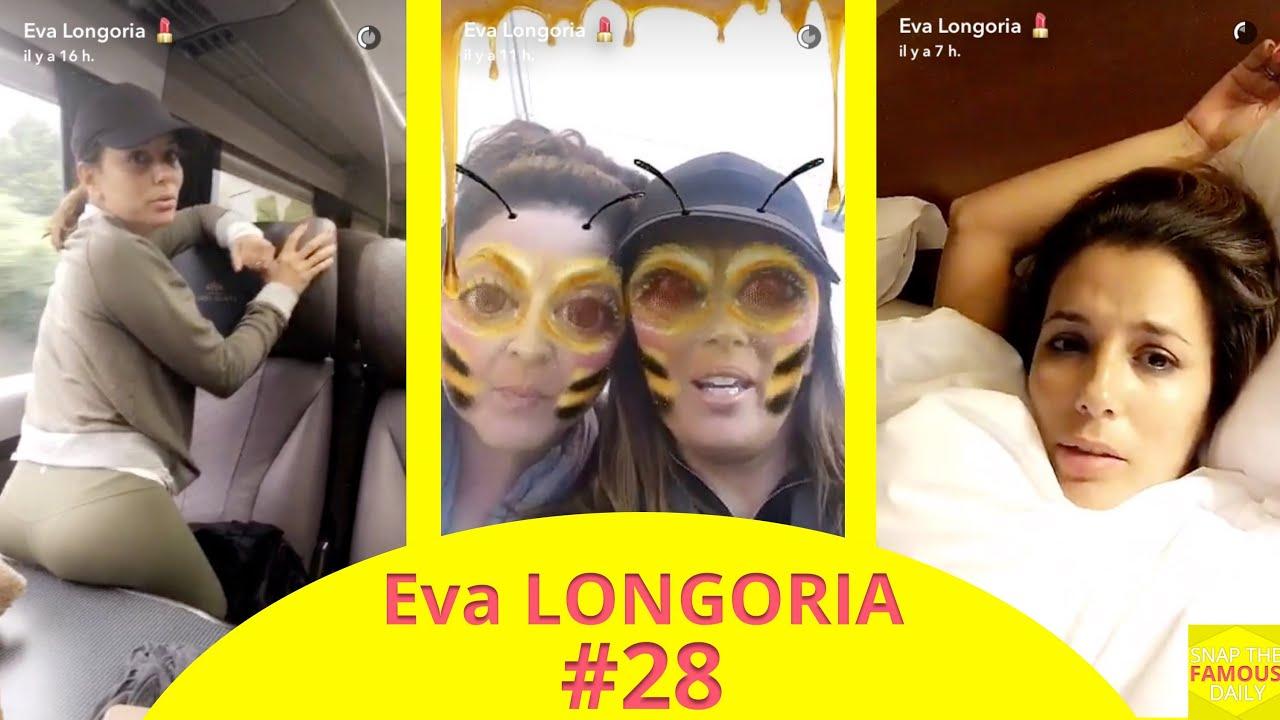 Snapchat Eva Longoria