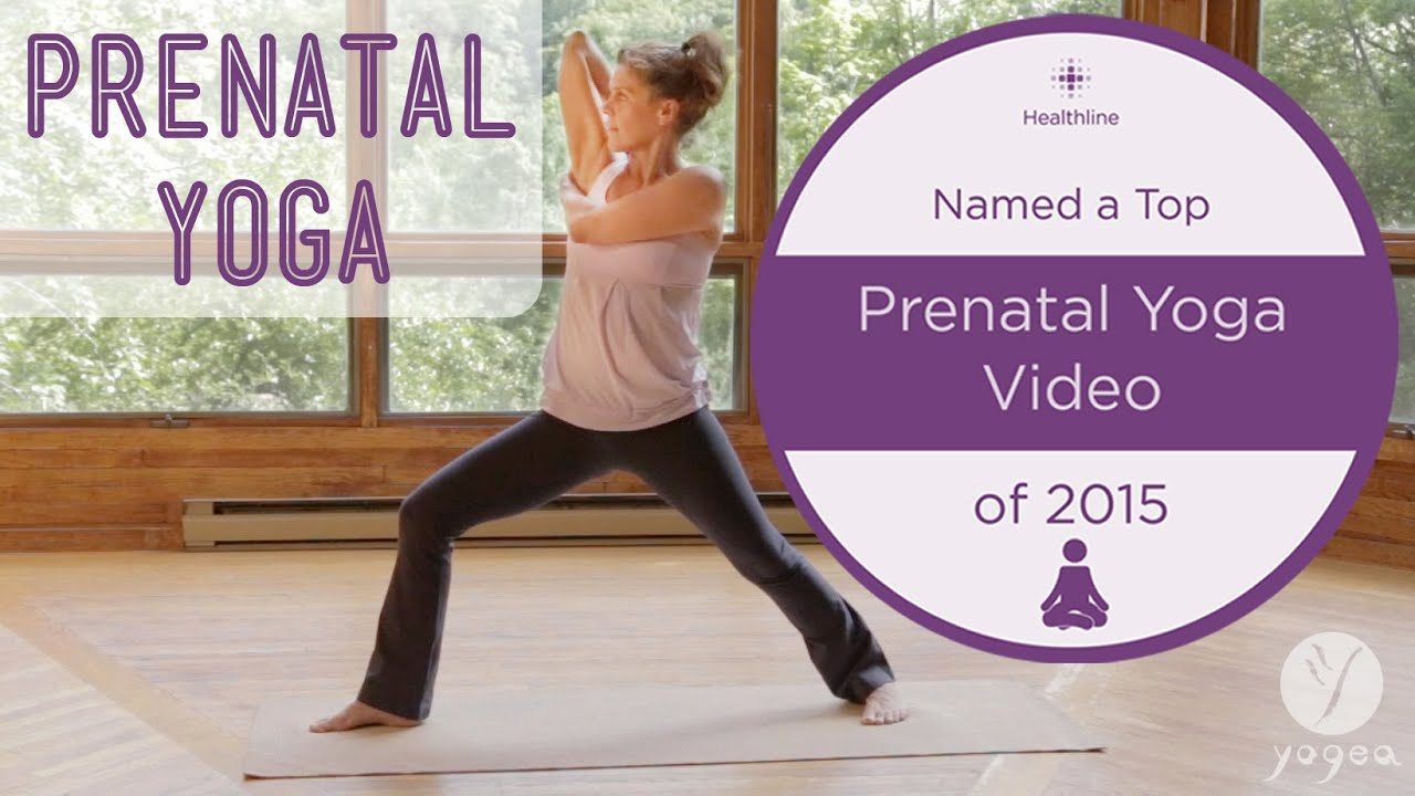 Prenatal Yoga Routine Gift Of Life 1st Trimester Youtube