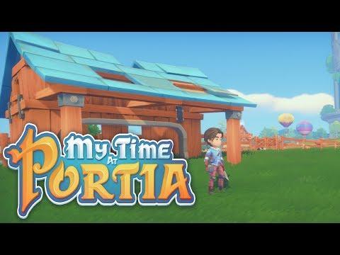 Let's Play My Time At Portia - Alpha 5.0 McDonald's Farm