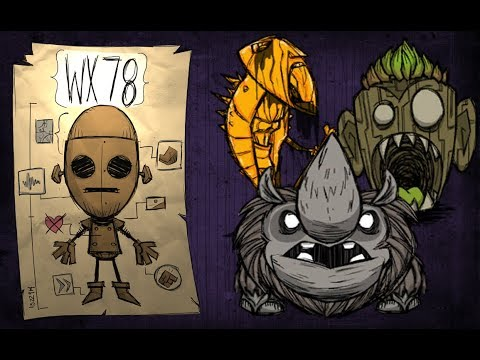 WX78 Ruins Rush Walkthrough (Don't Starve Together)