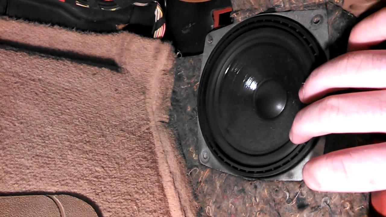 bmw z3 speaker size [ 1280 x 720 Pixel ]