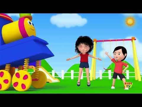 Bob The Train - Bob The Train | let's bake song | original song | nursery rhymes |  3d rhyme