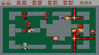 Atomic Bomberman gameplay demo 2