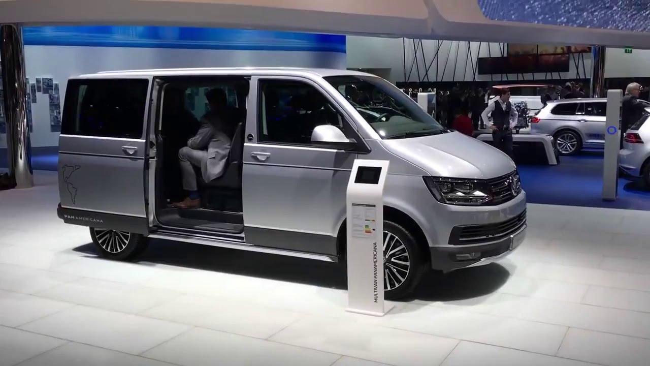 volkswagen multivan panamericana geneva 2016 vag mag. Black Bedroom Furniture Sets. Home Design Ideas