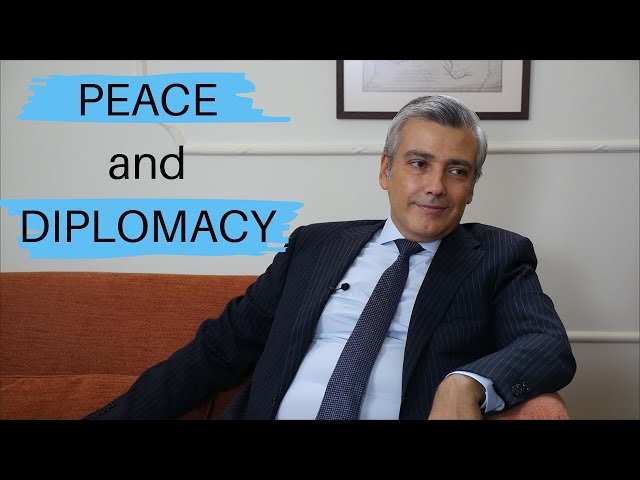 Building peace through diplomacy: an interview with HE Rami Mortada