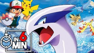 POKEMON FILM 02 'LUGIA' IN 6 MINUTEN