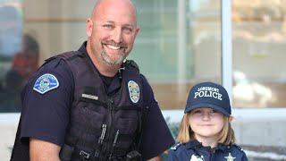 4-Year-Old Donates $8 Piggy Bank Savings to Cop With Cancer thumbnail
