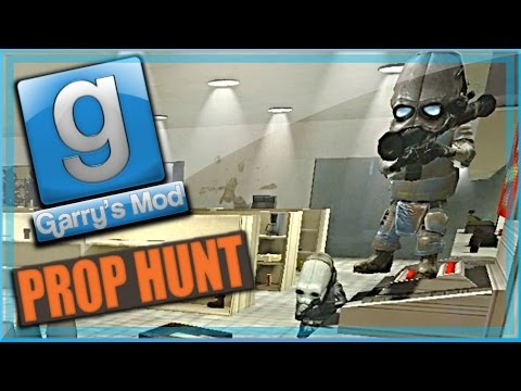Garry's Mod Prop Hunt Funny Moments Little Hunter Edition! - Sneaky Snake, Gas Can, and No Clipping!