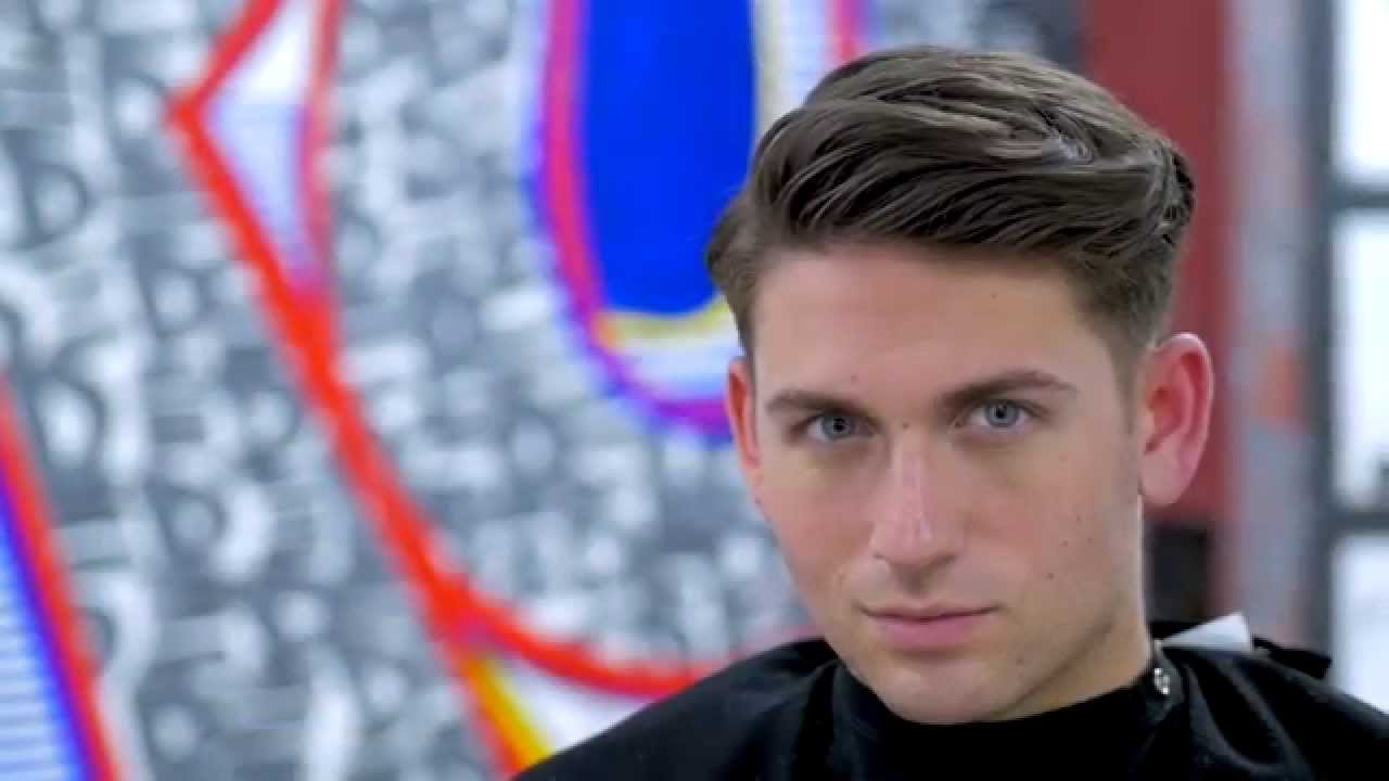men's tapered haircut - thesalonguy