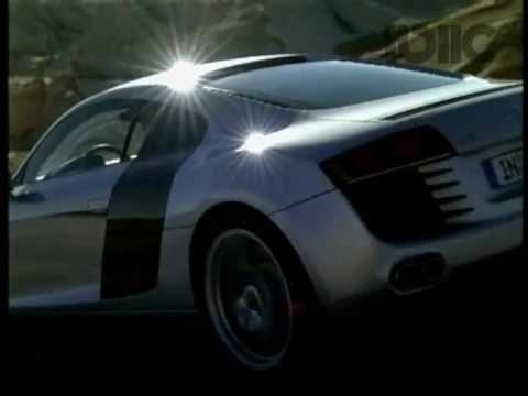 הגדול אודי R8 - מכונית העל הראשונה של אודי - Audi R8 - YouTube SL-52