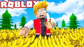 EVERYTHING IS SEVEN! EAT TOO MANY BANANAS - ROBLOX Banana Simulator