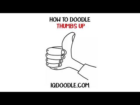 How to Draw a Thumbs Up (drawing tips)