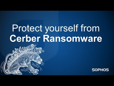 Watch Cerber Ransomware And RIG Exploit Kit In Action And Learn How Sophos Stops It