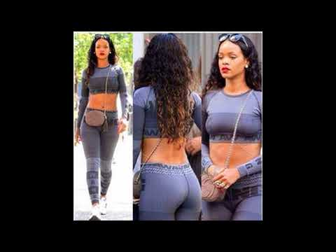 Hottest Rihanna Twerking and Thicker   Booty Compilation Ever