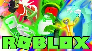 Roblox Ben 10 - YELLOW VS GREEN VS BLUE VS RED! (Roblox Ben 10 Arrival of Aliens)