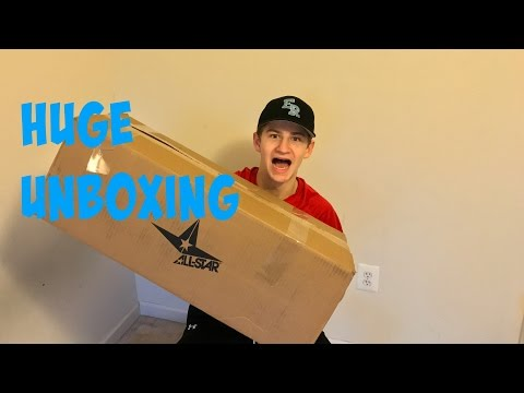 HUGE New Catcher's Gear Unboxing!!!