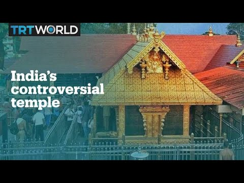 What is the Sabarimala temple controversy all about?