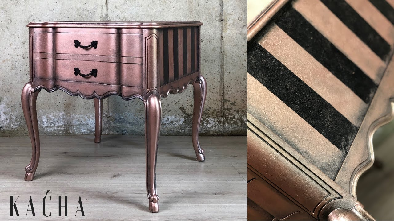 How To Layer With Metallic Paint