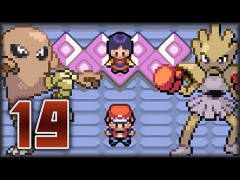 Guía Pokémon Rojo Fuego & Verde Hoja - Parte 19 | Ni fuerza ni mente / Vs. 6ta Líder sabrina