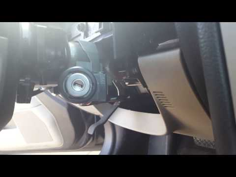 How to replace the ignition switch cylinder on a lincoln mkz zephyr and fusion