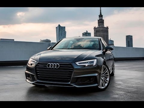 2017/18 Audi A4 B9 Sedan - black optics, daytona gray, S-line (interior, exterior..)