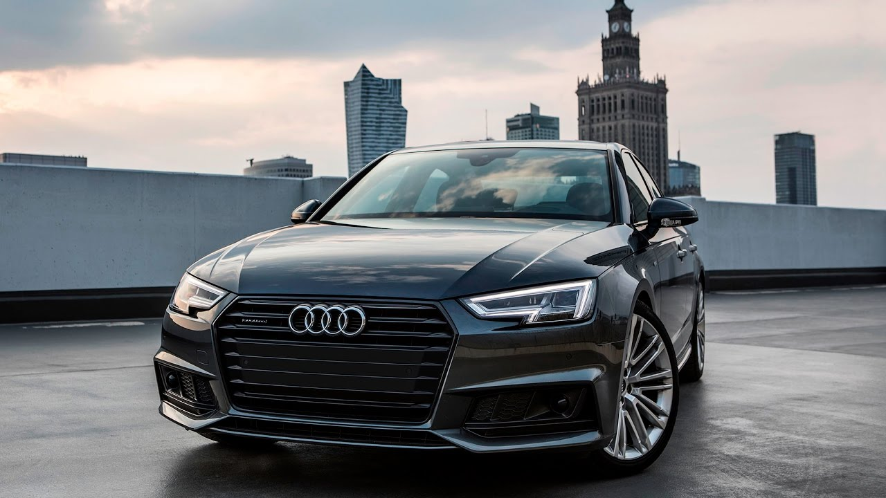2017/18 Audi A4 B9 Sedan - black optics, daytona gray, S ...