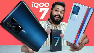 iQOO 7 & iQOO 7 Legend Unboxing And First Impressions ⚡ Dual Chip, Snapdragon 870, 120Hz & More