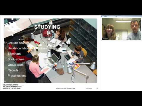 Webinar: Study Neuroscience at the University of Helsinki, Finland!