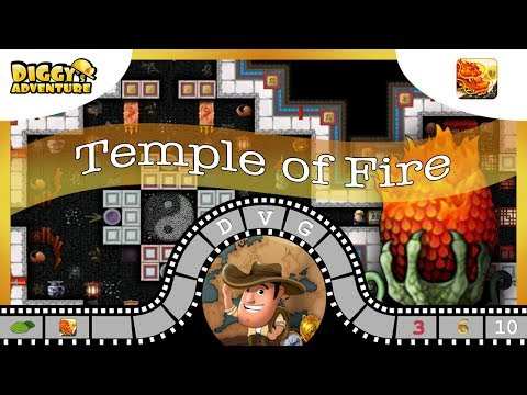 [~Dragon of Fire~] #10 Temple of Fire - Diggy's Adventure