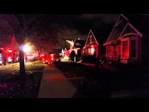 Plane Crashed A Few Houses From My Home.