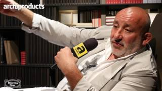 Salone del Mobile.Milano 2017 | POLTRONA FRAU - Jean-Marie Massaud talks about his products