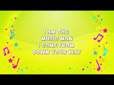 I Am the Music Man | Karaoke | Action Song | Nursery Rhyme | KiddieOK