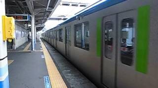 東武60000系61609編成 六実駅発車