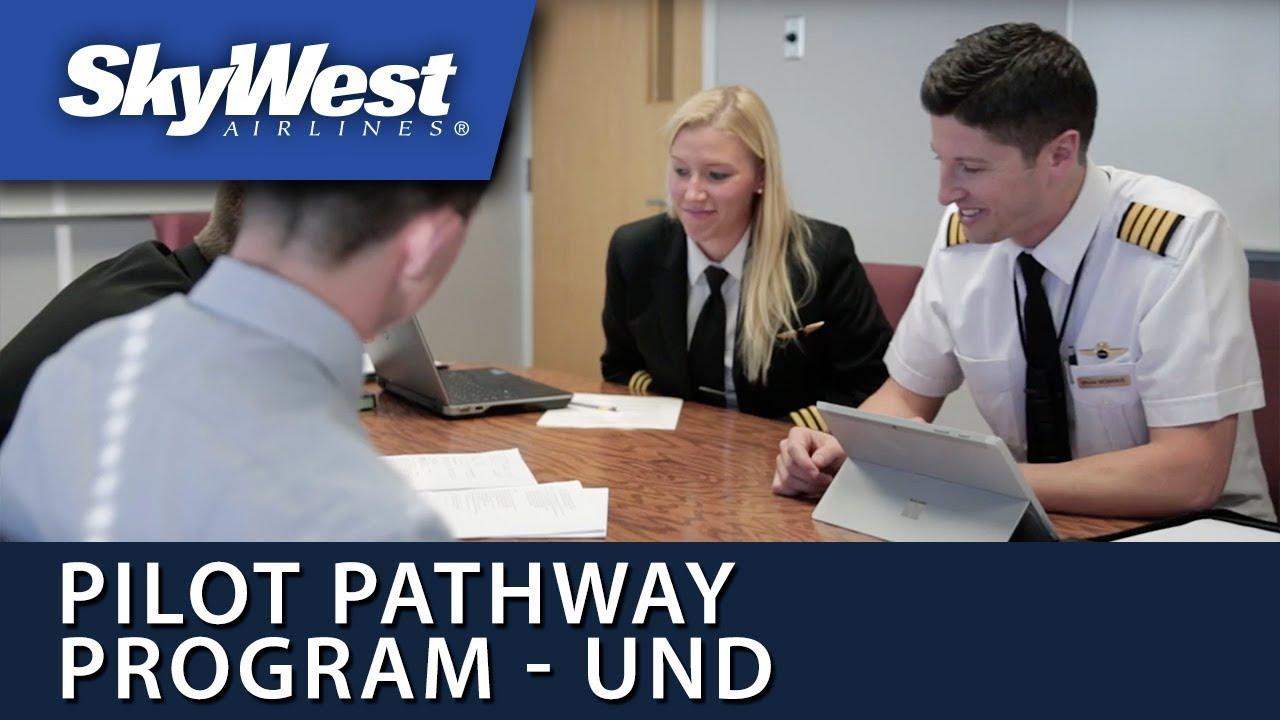 SkyWest Pilot Pathway Program at UND