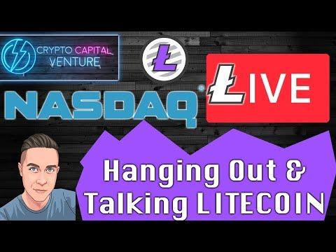 Litecoin - Nasdaq & Quick Saturday Update