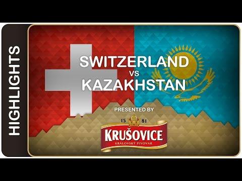 """Canakhstan"" stuns Swiss in the shootout | Switzerland-Kazakhstan HL | #IIHFWorlds 2016"