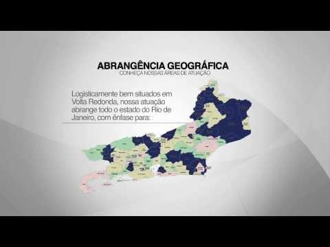 Área geográfica de atendimento da Malheiros Logistics