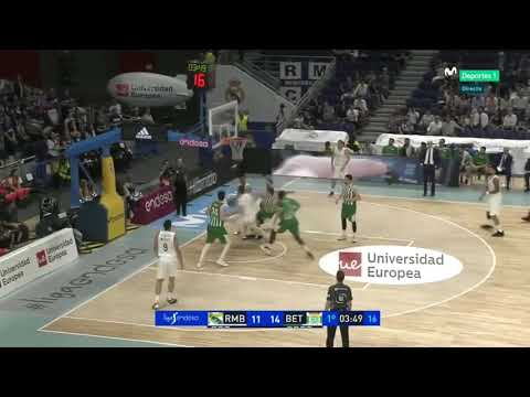 Luka Dončić FIRST EVER TRIPLE DOUBLE! 17PTS 10REB 10AST VS Real Betis in 22 MINUTES! INDEX 42!